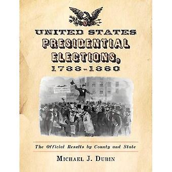 Eleições presidenciais nos Estados Unidos, 1788-1860: O funcionário resulta pelo município e estado