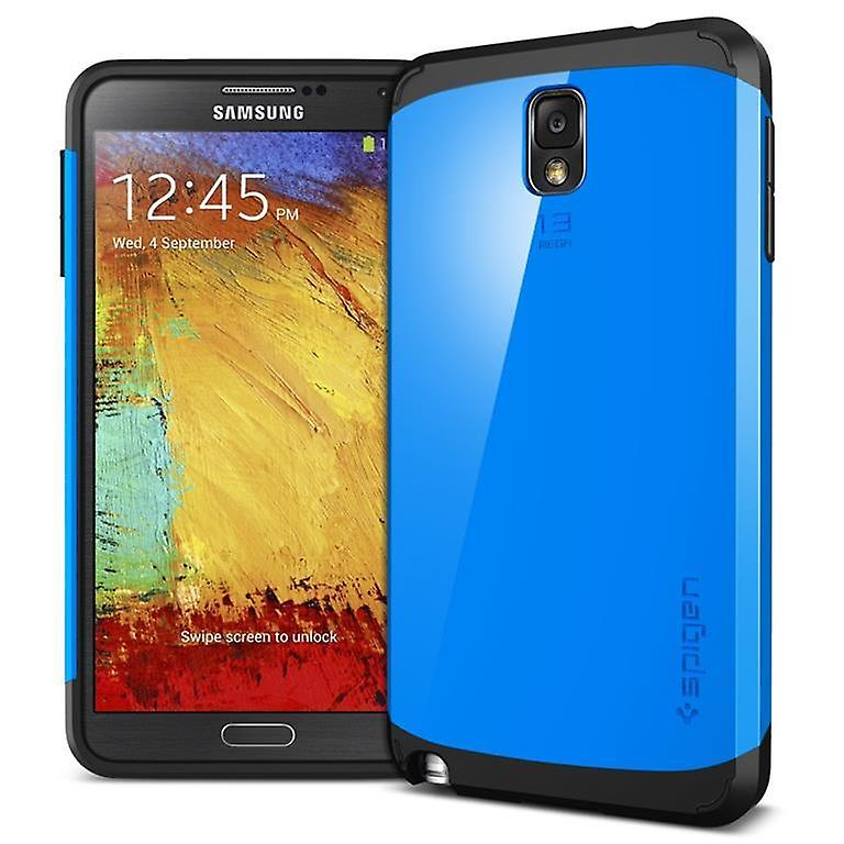 Samsung Galaxy Note 3 slim armor case cover blue