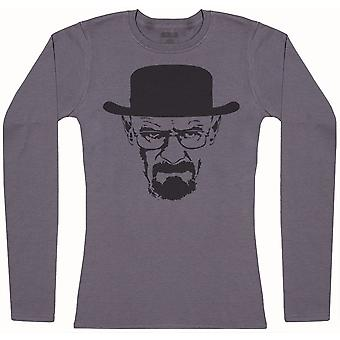 Walter White - Womens Long Sleeve T-Shirt