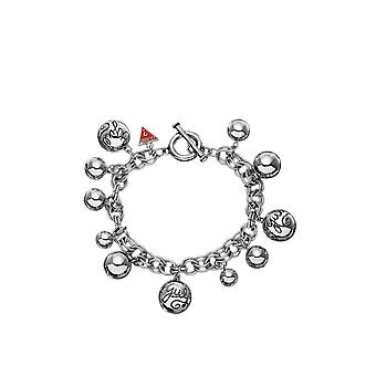 Guess Jewellery Guess Bauble Silver Bracelet UBB80812