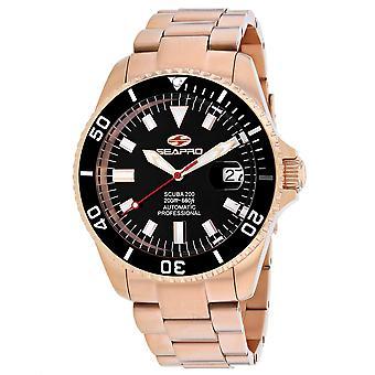 Seapro Men's Scuba 200 Black Dial Watch - SP4322