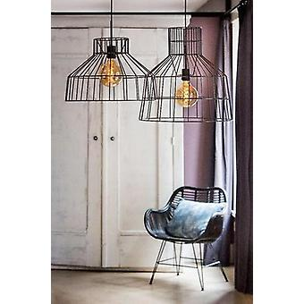 Hanging Lamp Gaia Wire Copper Incl Lamp