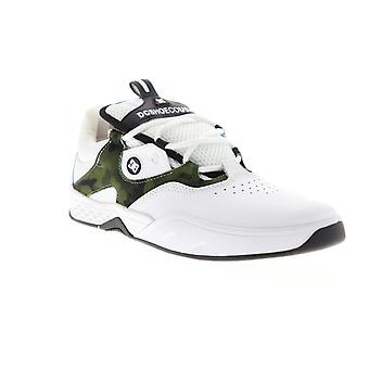 DC Kalis S  Mens White Camouflage Low Top Lace Up Skate Sneakers Shoes