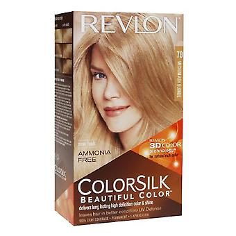 Revlon colorsilk beautiful color, medium ash blonde 70, 1 ea