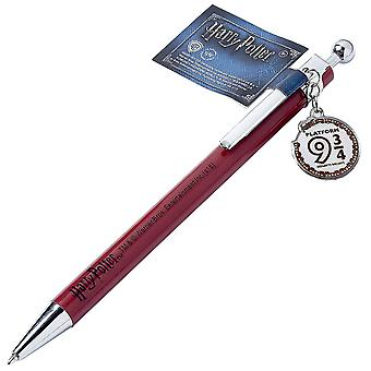 Harry Potter Pen Hogwarts Railway Logo Chibi Charm new Official Burgundy