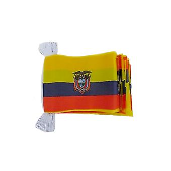 Ecuador Bunting 6m 20 Flag