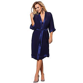 Vena VSZL-370 Women's Navy Blue Robe