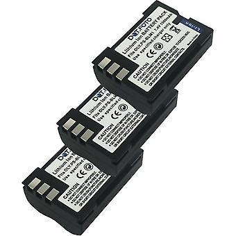 3 x Dot.Foto Olympus PS-BLM1, BLM-1 Replacement Battery - 7.4v / 1560mAh