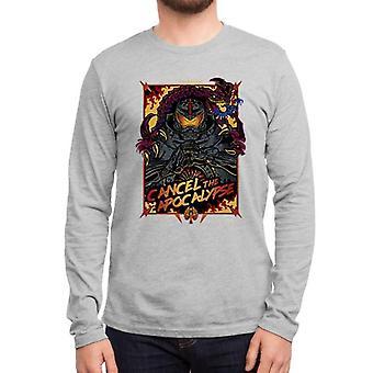 Cancel the apocalypse full sleeves t-shirt
