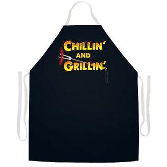 Chillin-apos; et Grillin-apos; tablier