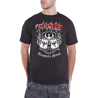 Tankard T Shirt Alcoholic Metal Band Logo new Official Mens Black