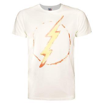 Junk Food Flash Thunderbolt Men's T-Shirt