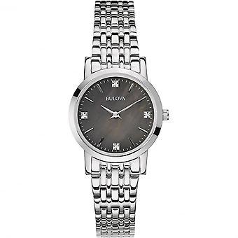 Bulova 96S148 Kvinnor's Diamond armbandsur