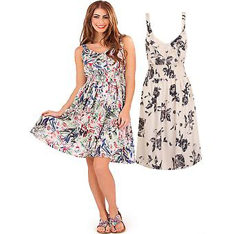 Pistachio Women's Floral Print  Summer Dress