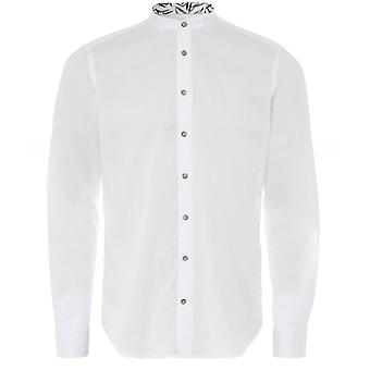 Baldessarini Cotton Pique Granpa Shirt