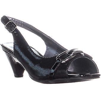 Karen Scott Womens Arlena Peep Toe ocasião especial Slingback sandálias