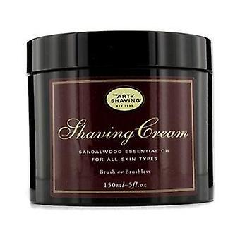 Shaving Cream - Sandalwood Essential Oil - 150ml/5oz