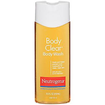 Neutrogena body clear body wash, salicylic acid acne treatment, 8.5 oz