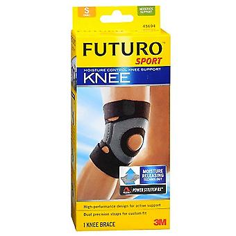 Futuro sport moisture control knee support, moderate, small, 1 ea