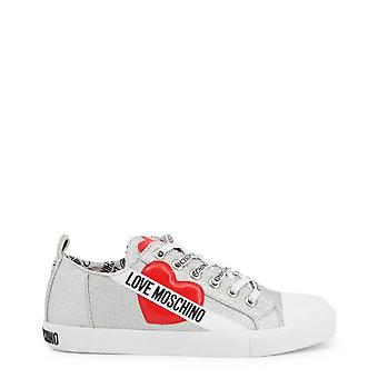 Love Moschino Original Women Fall/Winter Sneakers - Grey Color 57349