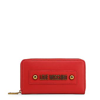 Love Moschino Original Women Spring/Summer Wallet Red Color - 71265