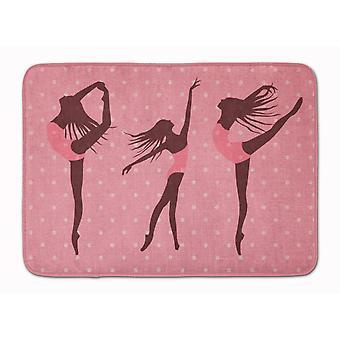 Танцоры белья розовый Polkadots машина моющийся памяти пены Матем