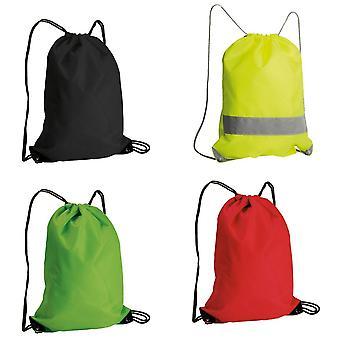 Identificación del lazo bolso de la gimnasia