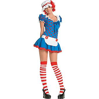 Sexy Rag Doll Costume for women