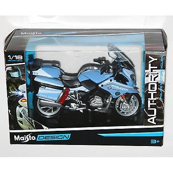 Maisto Motorbike 1:18  BMW R 1200 RT Polizia Pale Blue
