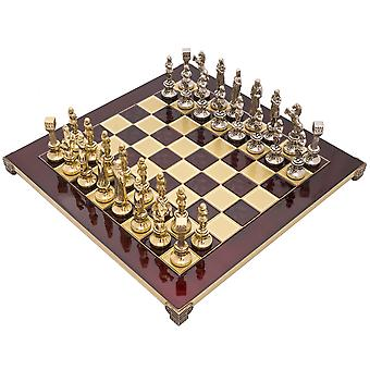 The Manopoulos Renaissance Chess Set With Wooden Case