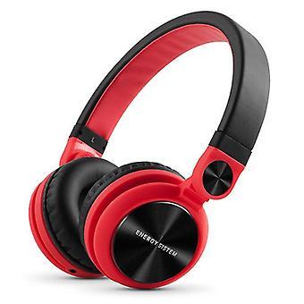 Hodetelefoner Energy Sistem DJ2 424597 rødt
