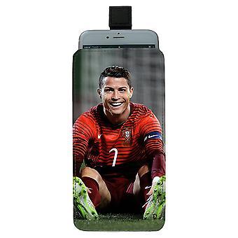 Cristiano Ronaldo Pull-up Mobile Tasche
