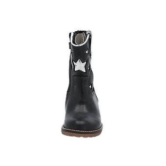 Hip H1326 Kids Girls Boots Black Lace-Up Boots Winter