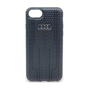 Audi Backcover Hoesje iPhone 8 / 7 / SE (2020) - Zwart