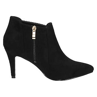 Anne Michelle Womens/Ladies Zip Ankle Boots