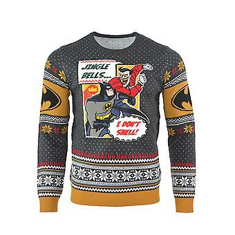 Officiële Batman ik ruiken niet kerst Jumper / lelijke trui