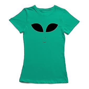 Alien t-shirt de cara las mujeres