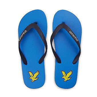 Lyle & Scott | Fw1213 Retro Eagle Logo Flip Flops Sandaler