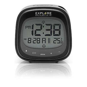 Alarm Clock Explore Scientific RDP-3007 LCD Black