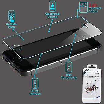 Asmyna Tempered Glass Screen Protector for Apple iPhone 5/5S - Clear