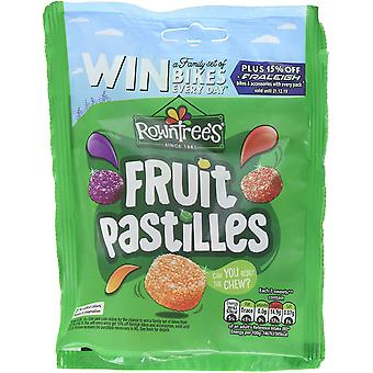 Rowntrees Fruit Pastilles Sweets Sharing Pouch, 150g Bag