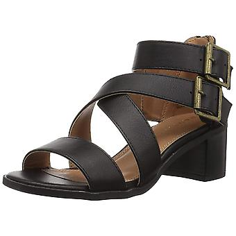 Rampage Womens Havarti Open Toe Casual Ankle Strap Sandals