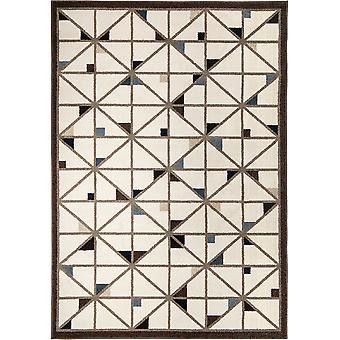 "62""x 90""x 0.31"" Geometric Seashell Area Rug"