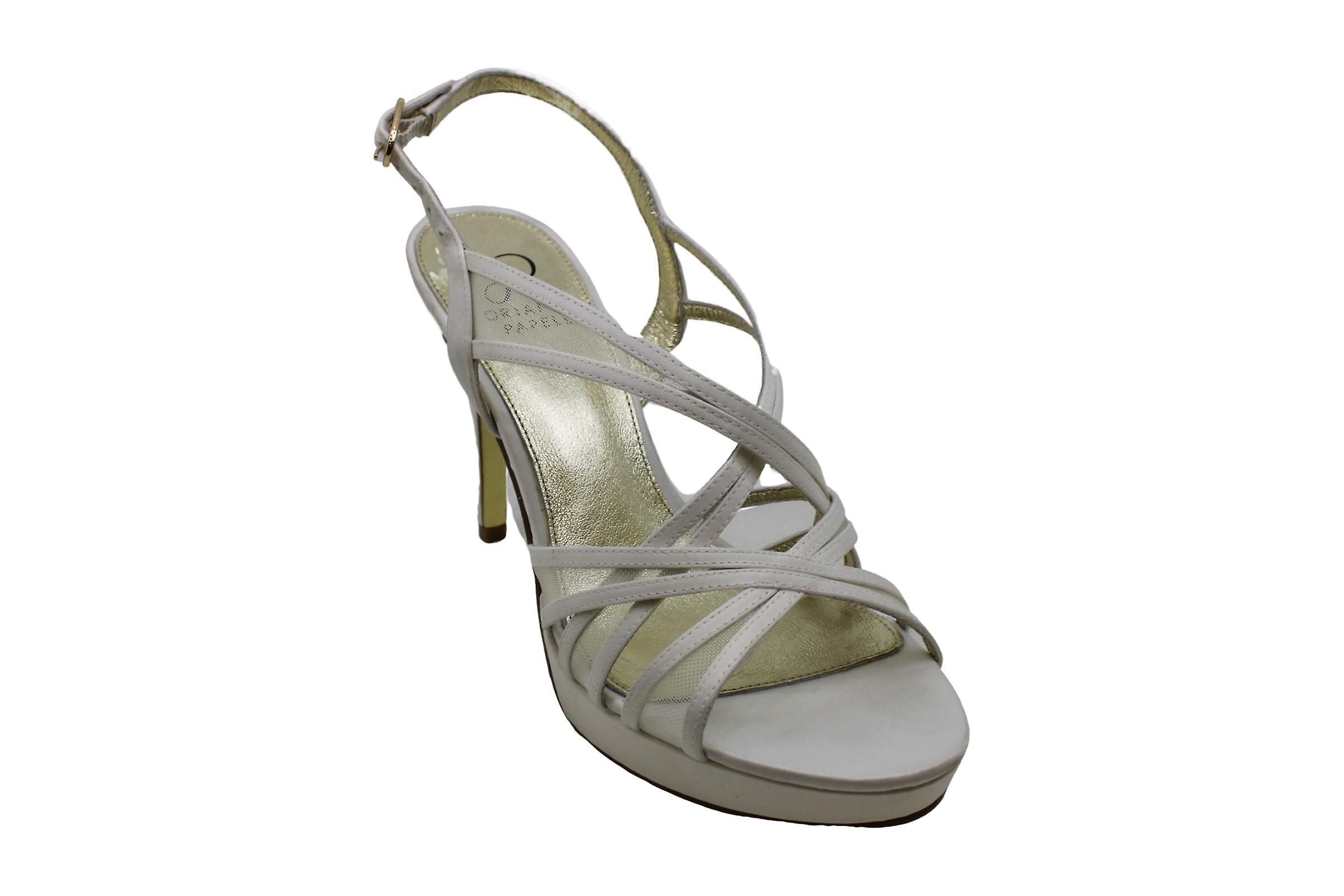 Adrianna Papell Womens Aiden Leather Open Toe Casual Slingback Sandals