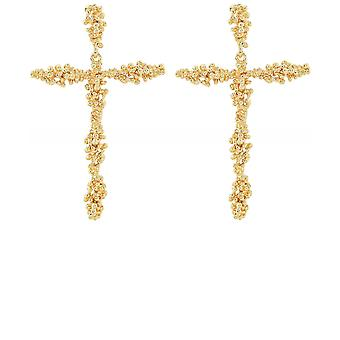 Uzurii Holy Cross Earrings