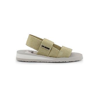 Love Moschino - Schuhe - Sandalette - JA16293G07JT_0901 - Damen - gold,white - 39