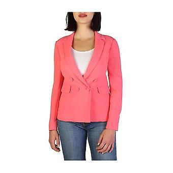 Armani Jeans - Clothing - Classic Jacket - 3Y5G52_5NZEZ_1480 - Ladies - tomato - 40