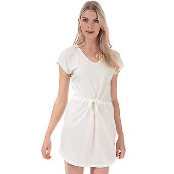 Women's Jacqueline de Yong Pastel Life V-Neck Dress in White