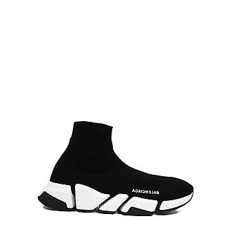 Balenciaga 617239w17021015 Männer's Schwarz Nylon Hi Top Sneakers