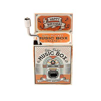 Happy Birthday To You - Pocket Wind Up Music Box - Cracker Filler